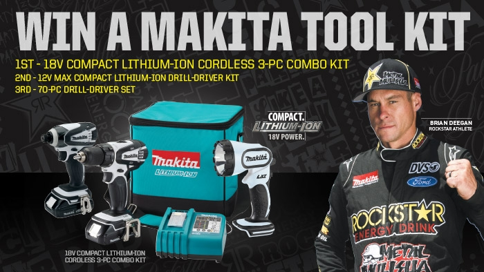 ROCKSTAR & C&K MARKETS MAKITA SWEEPSTAKE