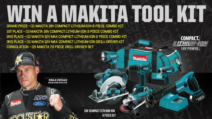 ROCKSTAR & PLAID PANTRY MAKITA FACEBOOK SWEEPSTAKE