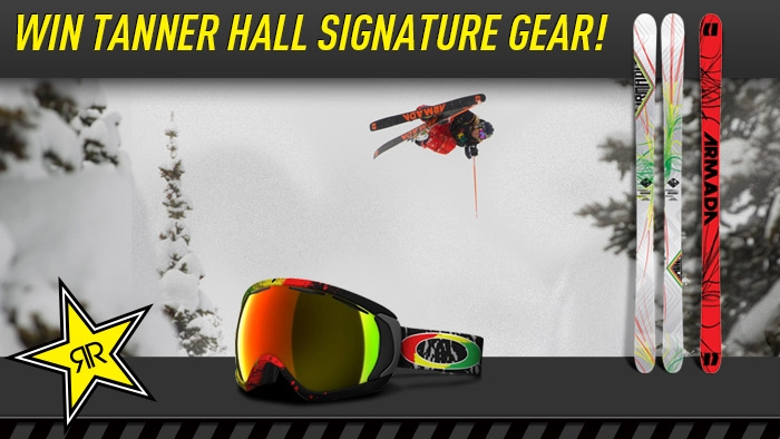 ROCKSTAR & TANNER HALL SIGNATURE GEAR SWEEPSTAKE