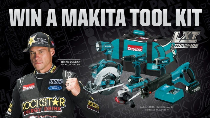 ROCKSTAR & CIRCLE K FACEBOOK MAKITA GIVEAWAY