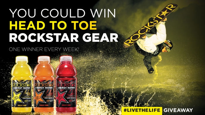ROCKSTAR LIVE THE LIFE GIVEAWAY