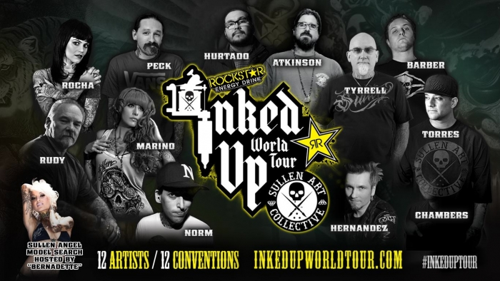 First Ever INKED UP WORLD TOUR
