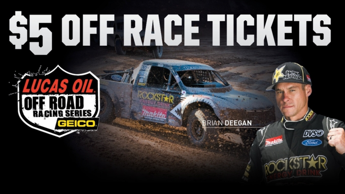 Lucas Oil Off Road Series Bounce Back Coupon