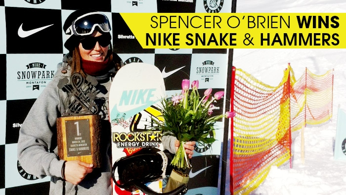 Spencer O'Brien Wins Nike Snake & Hammers