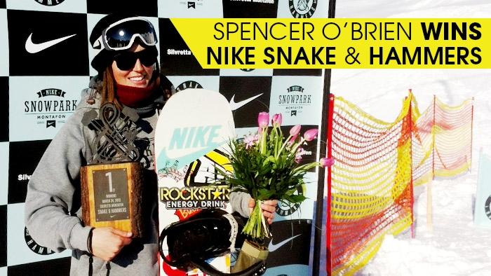 Spencer O'Brien Wins Nike Snake & Hammers