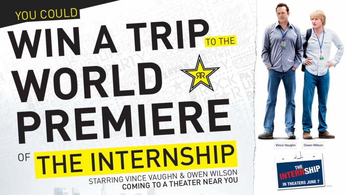 THE INTERNSHIP MOVIE PREMIERE SWEEPSTAKES