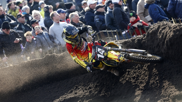 Valkenswaard GP of The Netherlands Race Report - Rockstar Energy Suzuki Europe MX2