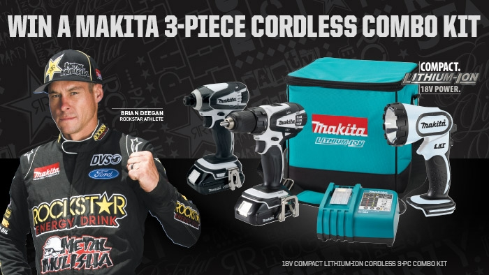 ROCKSTAR & VALLARTA MARKETS MAKITA SWEEPSTAKE