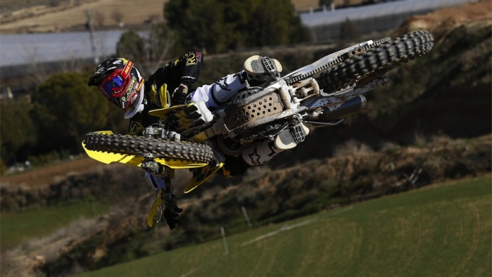 Double Podium for Rockstar Energy Suzuki World MX1