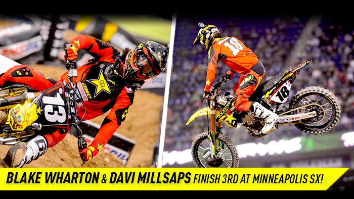 Double Podium in Minneapolis for Rockstar Energy Racing