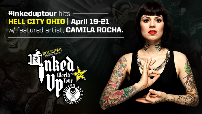 #InkedUpTour Ohio