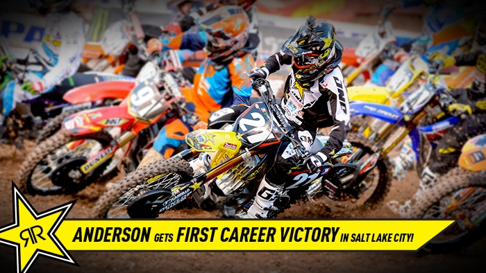 Jason Anderson Wins Salt Lake City Supercross!
