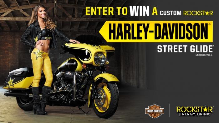 ROCKSTAR HARLEY-DAVIDSON® STREET GLIDE® (H.O.G.®) SWEEPSTAKES