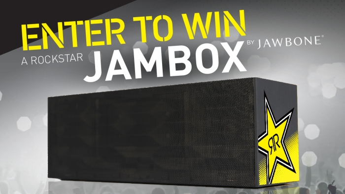 ROCKSTAR & REBEL OIL JAMBOX SWEEPSTAKE