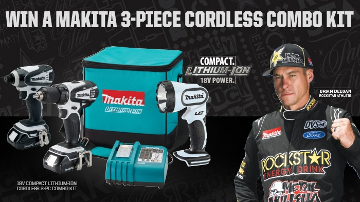 ROCKSTAR & LOVE'S MAKITA SWEEPSTAKE