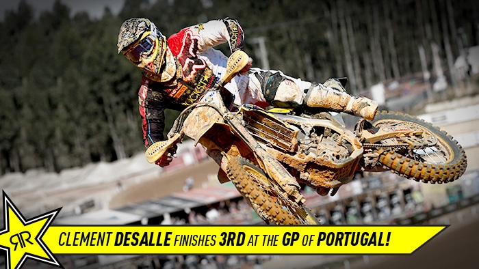 Clement Desalle recovers from big crash to finish 3rd in Portugal!