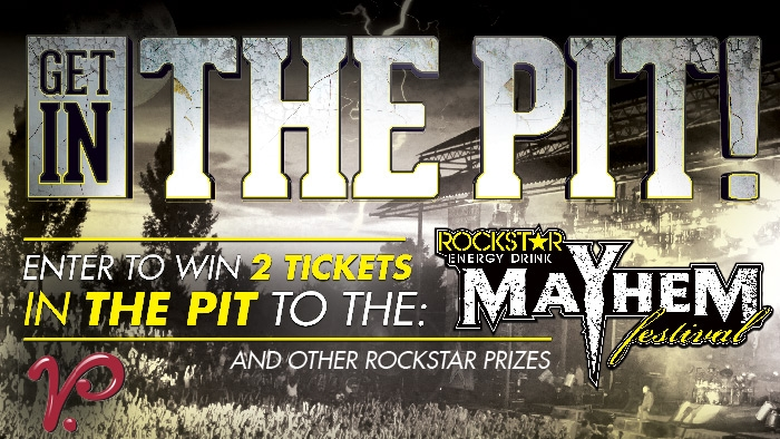 ROCKSTAR & VILLAGE PANTRY MAYHEM FESTIVAL SWEEPSTAKE