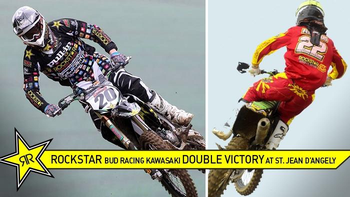 Rockstar Energy BUD Racing Kawasaki Double Victory!
