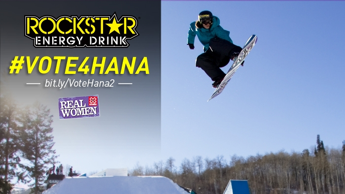 Vote for Hana Beaman in Round 2 of X Games Real Women