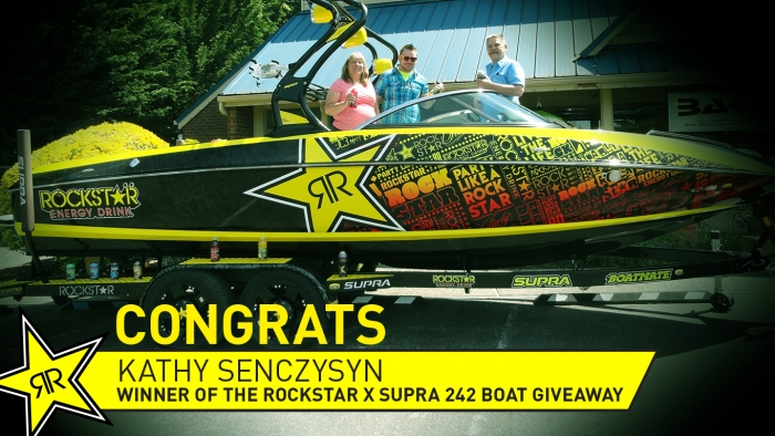 Rockstar x Supra Boat Winner Announced