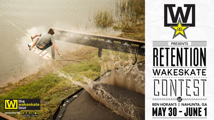 The Wakeskate Tour | 2013 RETENTION SCHEDULE