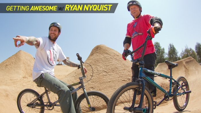SoCal BMX Double Dirt Session With Ryan Nyquist