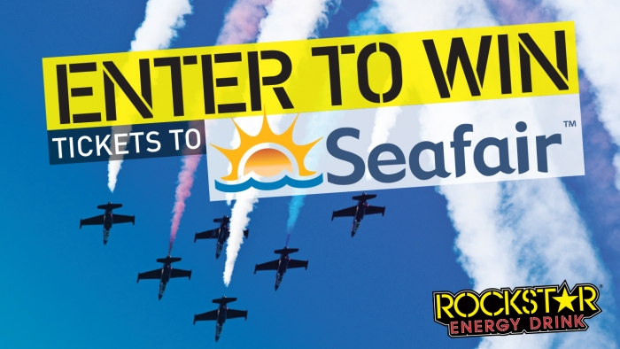 ROCKSTAR & 7-ELEVEN SEAFAIR TICKET SWEEPSTAKE