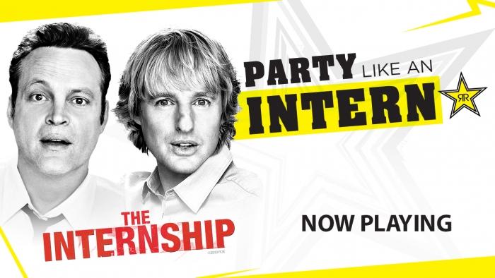 The Internship - Now Playing!