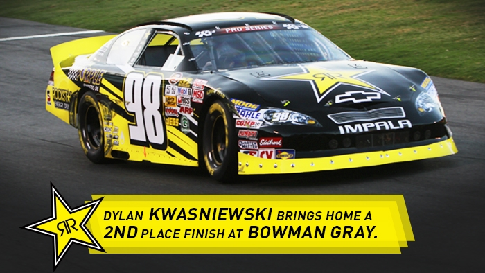 DYLAN KWASNIEWSKI PLACES 2ND AT BOWMAN GRAY