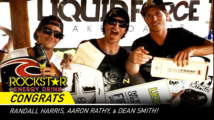 Rockstar Wake Team Sweeps BROstock 2013 Podium