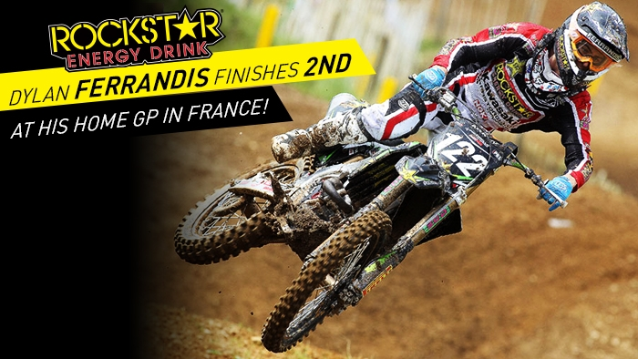 Dylan Ferrandis finishes in 2nd place in France!
