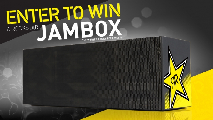 ROCKSTAR & GREEN VALLEY JAMBOX SWEEPSTAKE