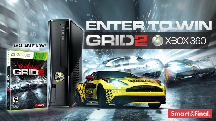 ROCKSTAR & SMART & FINAL XBOX GRID 2 SWEEPSTAKE