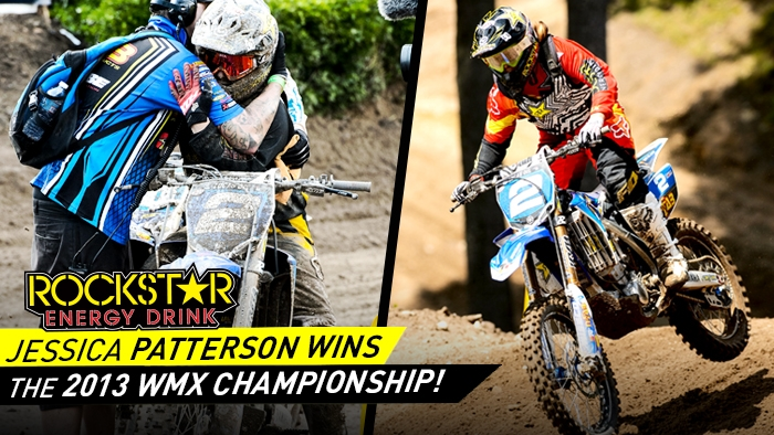 Jessica Patterson wins 7th career WMX Championship!