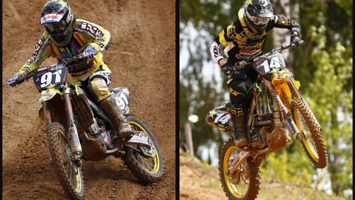 Kegums GP of Latvia Race Report - Rockstar Energy Suzuki Europe