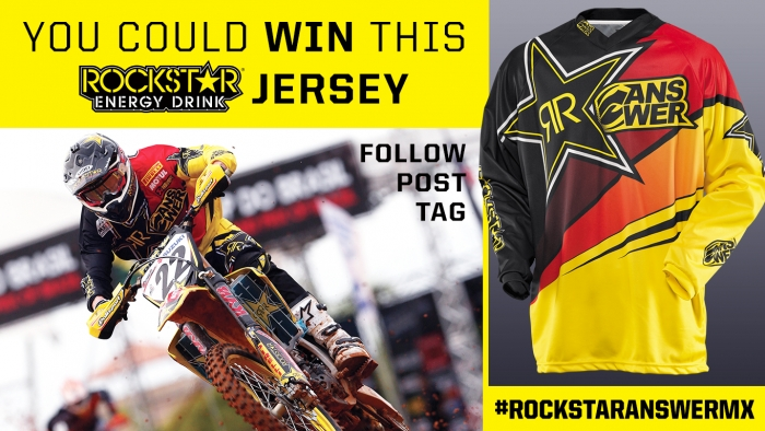 WIN A ROCKSTAR ANSWER RACING MOTO JERSEY
