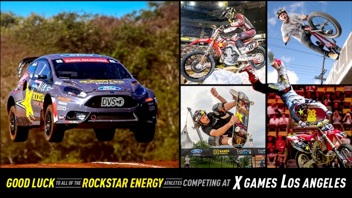 Good Luck at X Games Los Angeles!