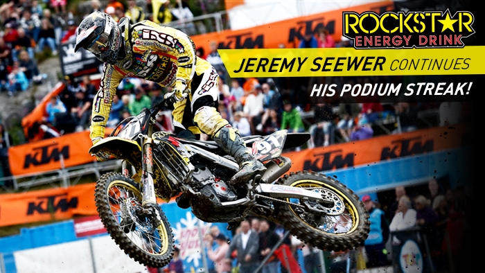 Jeremy Seewer picks up his 3rd EMX250 podium in as many races!