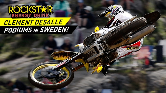 Clement Desalle Podiums at the GP of Sweden!