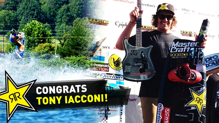 Tony Iacconi Wins Junior Pro At MasterCraft Pro Wakeboard Tour Monroe