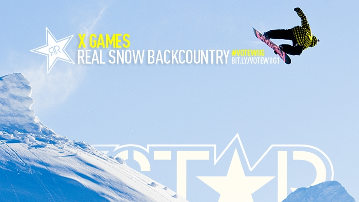 Vote for Andreas Wiig in Real Snow Backcountry