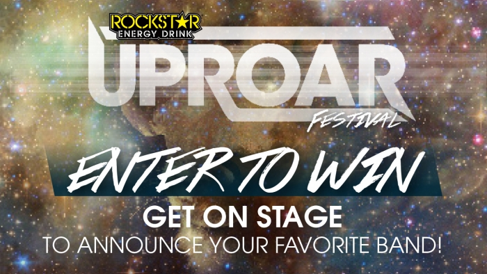 "ROCKSTAR & G&M FOOD MART UPROAR ""ANNOUNCE A BAND"" SWEEPSTAKE"