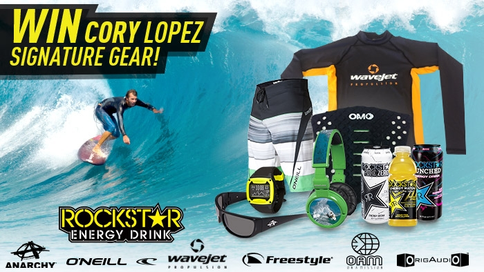 ROCKSTAR & CORY LOPEZ SIGNATURE GEAR SWEEPSTAKES