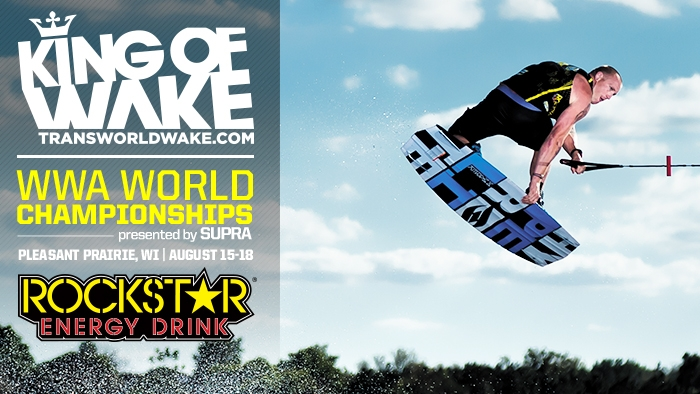 Rusty Malinoski Claims Title at  Rockstar WWA Wakeboard World Championships