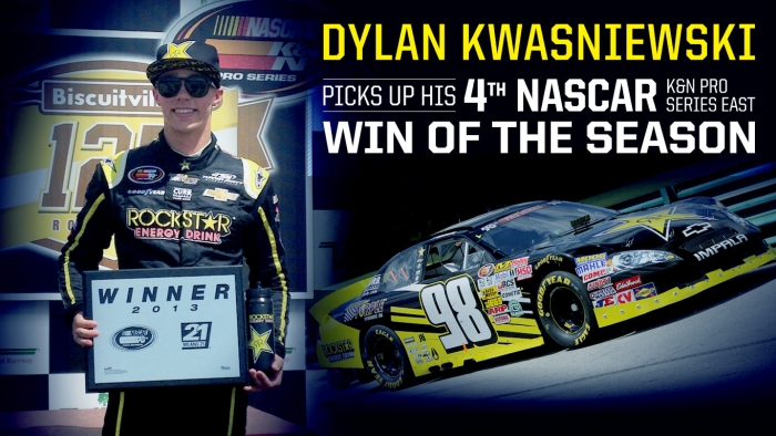 Kwasniewski grabs 4th win of the season