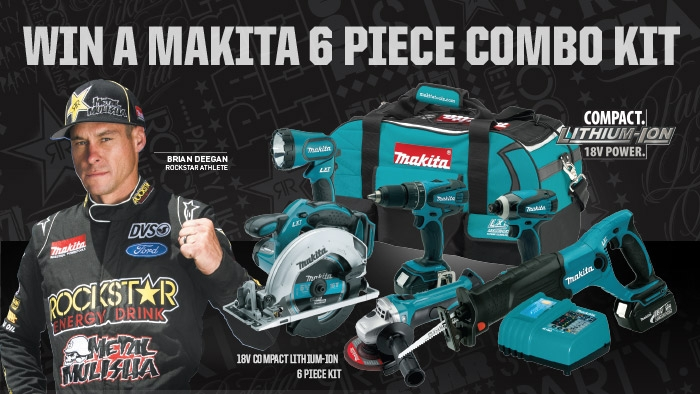 ROCKSTAR & LOAF 'N JUG MAKITA SWEEPSTAKES