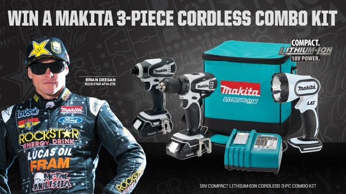 ROCKSTAR AND ANABI OIL MAKITA SWEEPSTAKES