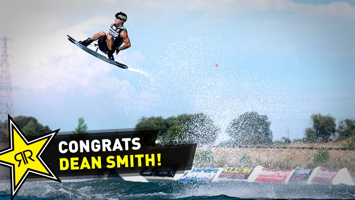 Dean Smith Wins Men's Pro Wakeboard Title at Tigé MyWake Global Challenge Live Main Event