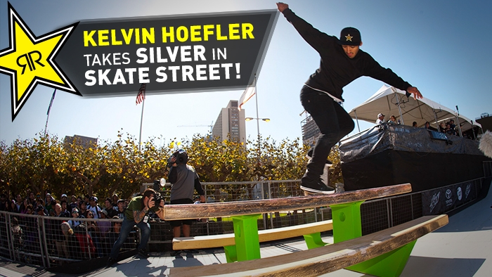 Kelvin Hoefler Podiums at Dew Tour San Francisco