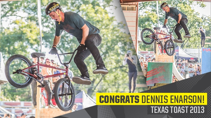 Dennis Enarson Wins Pro Street at Texas Toast 2013